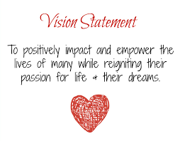 my vision statement sample vision statement for my life oh for the love of lily