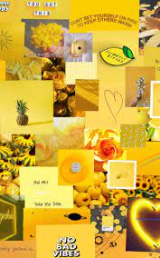 Freetoedit Yellow Aesthetic Wallpaper ...