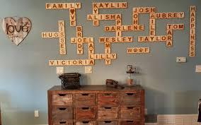 Scrabble Names Wall Art Scrabble Wall Tiles Scrabble Letters Scrabble Tiles Scrabble