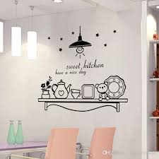 sweet kitchen have a nice day wall sticker decoration wall art murals sticker decor sticker decor for walls from magicforwall 1 76 dhgate com