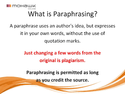 How To Use Apa Citing And Paraphrasing To Avoid Plagiarism Ppt