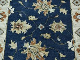 2 x3 hand knotted pure wool mahal fl navy blue oriental rug