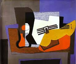 pablo picasso still life with guitar 1921