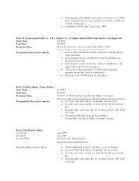 Job Description Of A Line Cook For Resume Best Of Cook Iii Resume Templates Smaroo