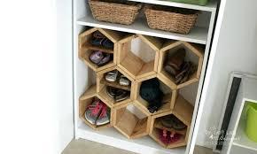 diy shoe rack hexagon shoe rack diy shoe rack storage ideas