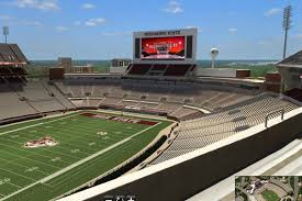 Mississippi State Football 3d Seating Chart This 3d Model Of Davis Wade Stadium Is A Tremendous Way To