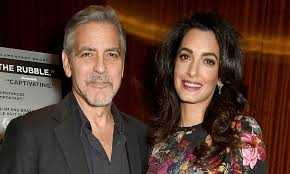 George Clooney and Amal expecting fraternal twins in June | Daily ...