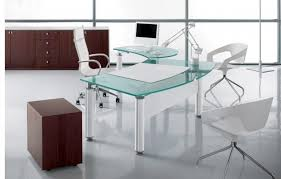 contemporary office desk glass. exellent desk attractive modern glass office desk contemporary  interesting charming pool set for