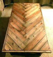 table tops home depot coffee top wood rustic herringbone solid unfinished 48 round
