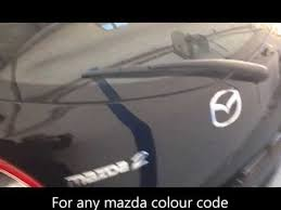 How To Find A Mazda Colour Code The Easy Way Youtube