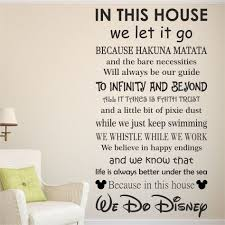 ... Disney Sayings Wall Decals Details About We Do DISNEY House Rules Vinyl Wall  Art Sticker Quote ...