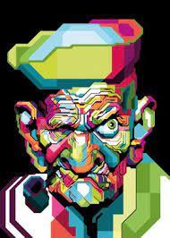 Amazing Popeye Pop art' Poster by Romancity Art   Displate
