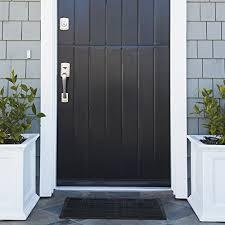 exterior entry rugs. alpine-neighbor-doormat-low-profile-outdoor-black-door- exterior entry rugs