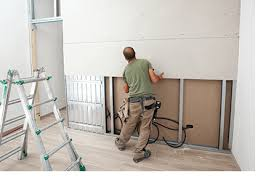 average cost of drywall installation or