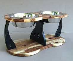 Dog Food Dishes Stands Sightly Wooden Pallet Dog Bowl Stand Wooden Pallet Dog  Bowl Stand Home