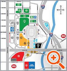 20 Circumstantial Mile High Stadium Parking Map