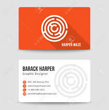 Phone Number Template Modern Business Card Template With Maze Address And Phone Number 20