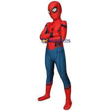 kids spider man cosplay suit spider man