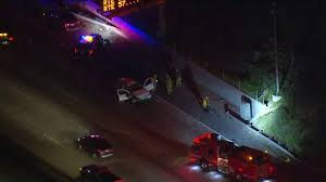Lanes Blocked on Eastbound 60 Freeway in East L.A. After Fatal Crash ...