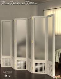 room dividers and partitions  d models and d software by daz d