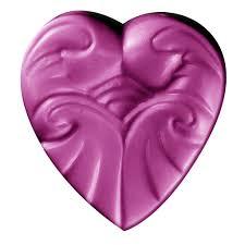 Heart Scrolls Milky Way Heart Scrolls Soap Mold Special Order Handmade Studio
