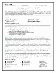 Recovery Agent Sample Resume Fascinating Drug Enforcement Agency Sample Resumes New Bail Agent Sample Resume