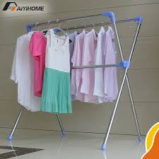 Baby Clothes Display Stand Top Awesome Steel Clothes Drying Rack With Regard To Household 78