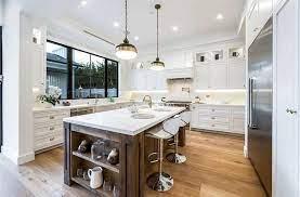 White Marble Kitchen Ideas Beautiful Designs Designing Idea