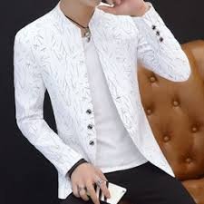 2020 spring and autumn jacket thin section collar suit male ... - Vova