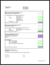 Bank Reconciliation Template 013 Bank Reconciliation Template Excel Make Fake Statements