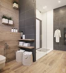 Small Picture Wood And Dark Grey Bathroom Tiles Bathroom Designs Pinterest