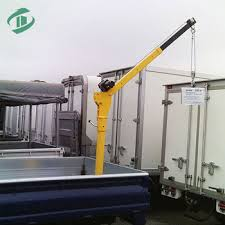 Low Price Hitch Mounted Truck Crane Pickup Crane With Winch - Buy ...