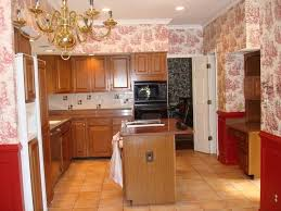 Red And Gold Kitchen Kitchen Spectacular Kitchen Wallpaper In Country Style With Red