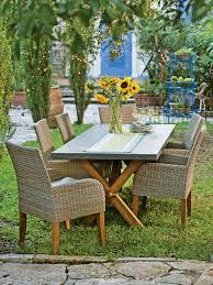 rustic outdoor farm table rustic farmhouse dining table set trestle resin wick on farmhouse table remix