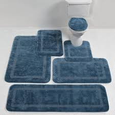 uncategorized dark blue bath rugs navy round rug reversible sets runner navy blue bath rugs