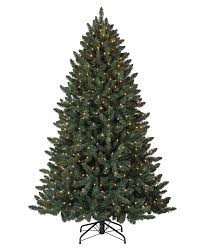 Balsam Spruce Artificial Christmas Tree  TreetopiaPre Lit Spruce Christmas Tree