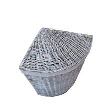 laundry basket clipart. Antique Wash Wicker Corner Laundry Basket Clipart