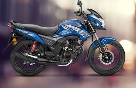 black honda cb shine 125 sp drum bike
