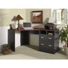 trendy black corner desk