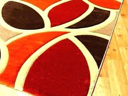 gray orange kitchen rugs red rug burnt perfect area and brown