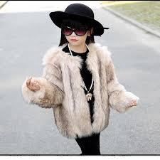 chillipop black ink faux fur hood peacoat toddler girls zulily
