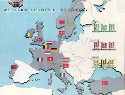 background essay the marshall plan and the cold war marshall plan map