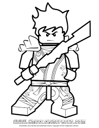 Small Picture Ninjago Kai KX In Kimono Coloring Page H M Coloring Pages