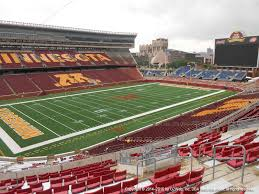 Minnesota Golden Gophers Stadium Seating Chart Tcf Bank Stadium View From Upper Level 216 Vivid Seats