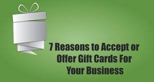 Business Gift Cards With Logo 7 Reasons To Accept Or Offer Gift Cards For Your Business Due