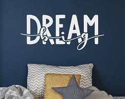 <b>Dream big wall</b> decal | Etsy