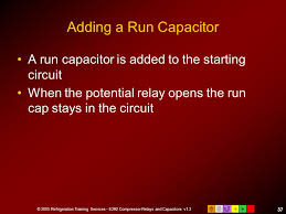 e2 motors and motor starting ppt adding a run capacitor a run capacitor is added to the starting circuit when the