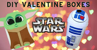 This valentine's day, celebrate the love of your life or the friendship that makes you feel whole with gifts for friends, family, partners, and the littlest star wars fans. This Is The Way To Make Your Own Star Wars Valentine Boxes Inside The Magic