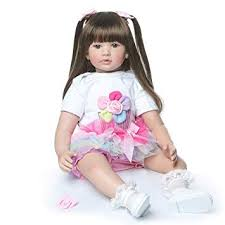 Zero Pam <b>Real</b> Life <b>Baby</b> Size <b>60cm 24inch Reborn</b> Toddlers Girl ...