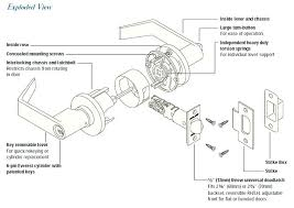kwikset door lock parts. Door Lock Parts Kwikset Diagram Amazing Of On Small Home Decoration Ideas With .